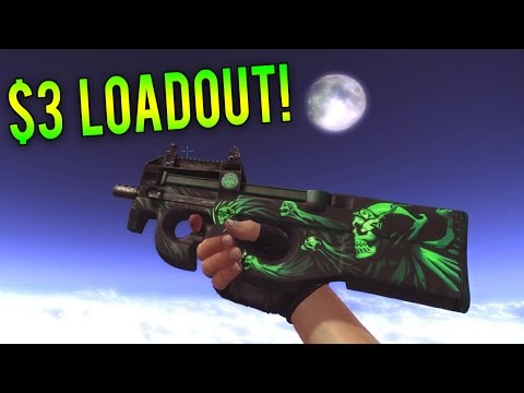 COMPLETE CS:GO LOADOUT FOR $3! (Best Cheap Skins Loadout Ever!)