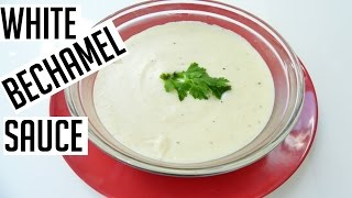How to make White Sauce Bechamel Recipe  Indian Cooking Recipes