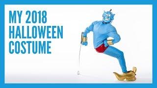 I'm dressing as Genie for Halloween