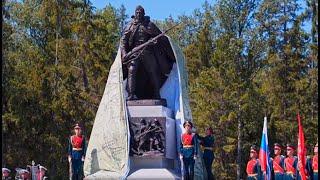 Мемориальный комплекс «Погибшим при защите Отечества» открыт на трассе М-11