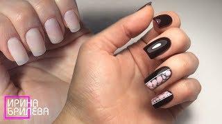 Видео урок по наращиванию ногтей 🌸 Сама себе нарастила ногти