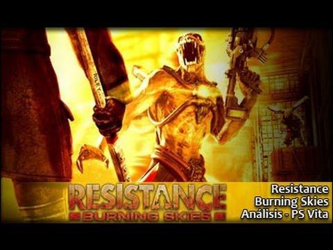 Resistance Burning Skies [Análisis]