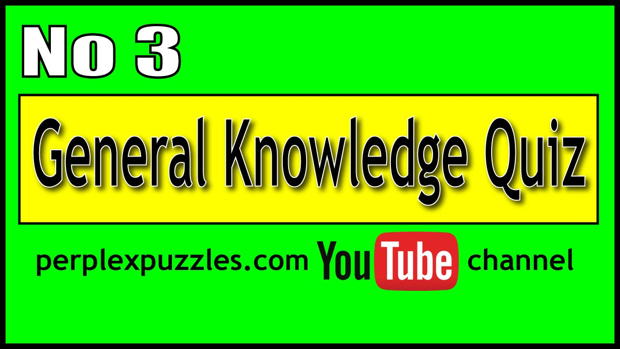 Easy General Knowledge Quiz Questions