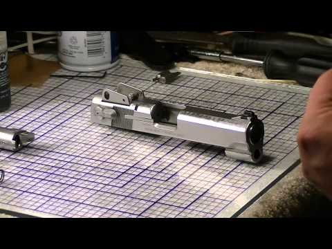 Smith & Wesson 4006 (40 S&W) Complete Disassembly Part 1 of 4 (Slide Disassembly)