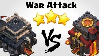 TH9 vs TH10 | Best Town Hall 9 War Attack Strategy | Clash of Clans INDIA