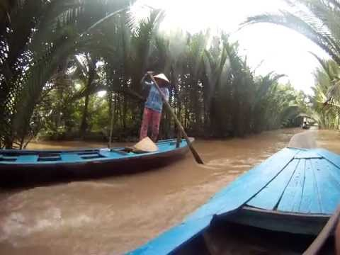 Mekong Delta Slowboat, My Tho, Tien Giang province, Vietnam
