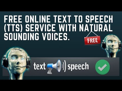 Best Text To Speech Online For FREE 2018-2019