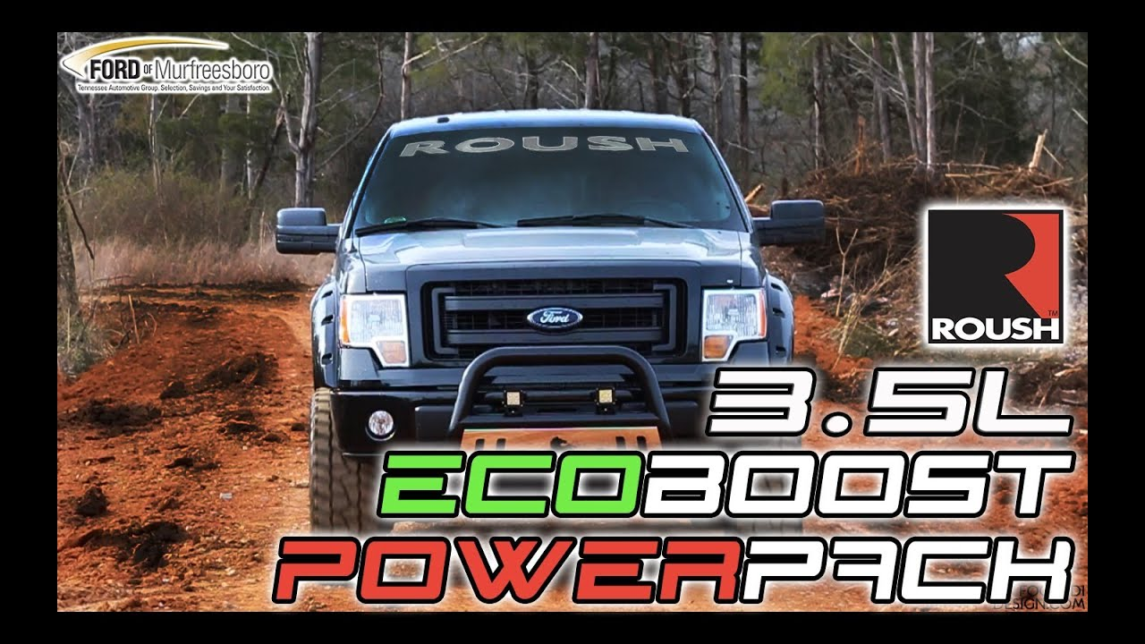 ford f150 3 5l ecoboost roush power pack youtube. Black Bedroom Furniture Sets. Home Design Ideas