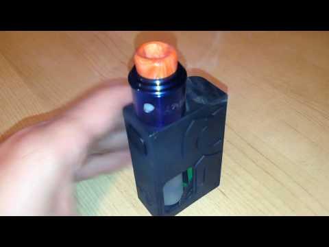 Clrane Resin 810 drip tip for RDA s - Orange -