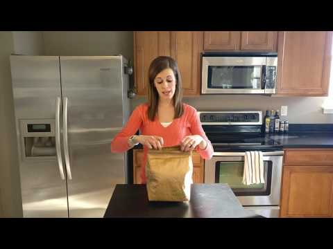 T.Bag Brown Paper Lunch Bag Review *REUSABLE* *INSULATED* *DURABLE*