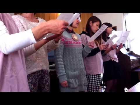 父の涙Chi chi no namida 父の涙 Gereja jepang . ibadah di gereja jepang . japan 日本