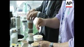 Coffee buzz:  Java drinkers may live a little longer, according to a new study that linked longevity