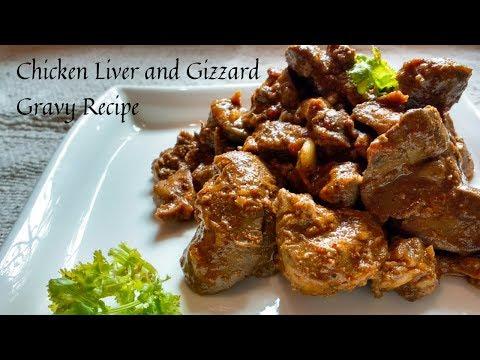 Chicken Liver Fry Recipe | Tasty Chicken Liver And Gizzard Curry Recipe | Chicken Liver Gravy