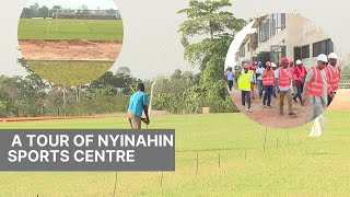 EXCLUSIVE: CHECKOUT THE ALL NEW NYINAHIN SPORTS CENTRE, 90% COMPLETE