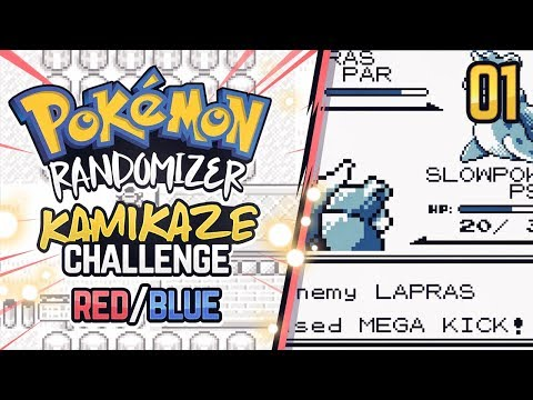 KAMIKAZE Challenge Randomizer | Pokemon Red/Blue #1