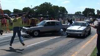 STREET Burnout Goes WRONG Fast!!!