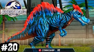 Jurassic World Динозавры прохождение Эпизод #20.Игры Динозавры Юрский Мир.Dinosaurs walkthrough game