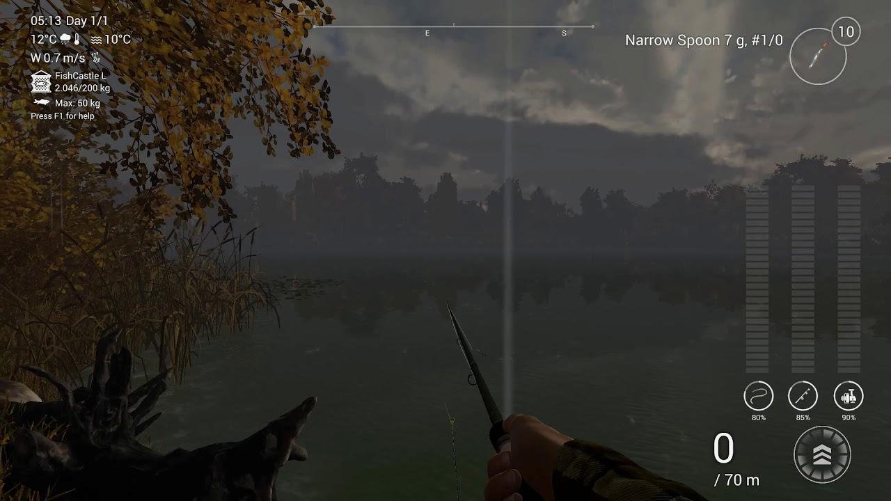 Fishing planet walleye 2019