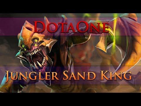 видео: dota 2 - Как фармить sand king лес? | jungler sand king САМЫЙ БЫСТРЫЙ БЛИНК В МИРЕ