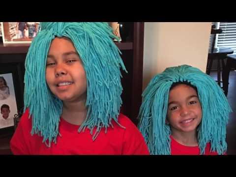 How to Make a Yarn Wig
