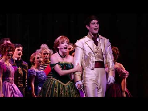 Love Is An Open Door  Frozen Musical  at The Hyperion  Disney California Adventure