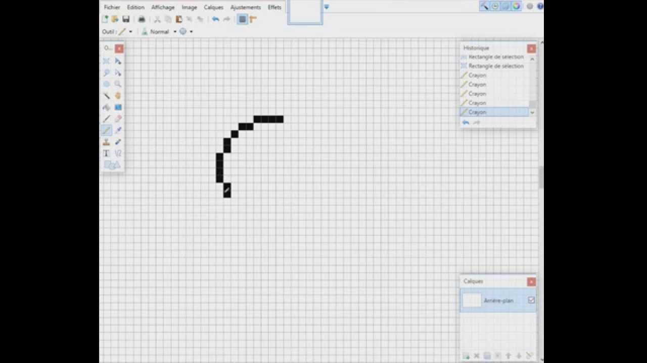 Pixel Art Un Perroquet Youtube
