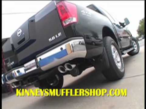 2006 Nissan Titan 56 Magnaflow Custom True Dual By Kinneys