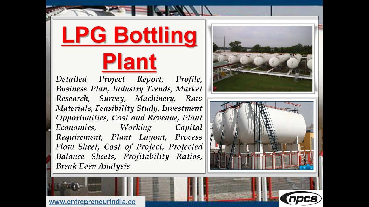 lpg bottling plant business plan