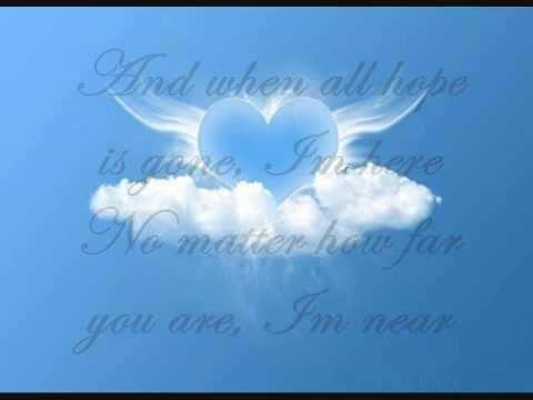 Celine Dion-I'm Your Angel (Lyrics)