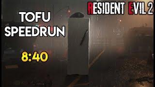 Resident Evil 2 Remake - Tofu Speedrun - 8:40