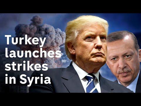 Turkey begins Syria offensive against Kurdish fighters