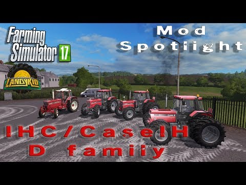 Farming Simulator 17 | mod spotlight | IHC/CaseIH D family