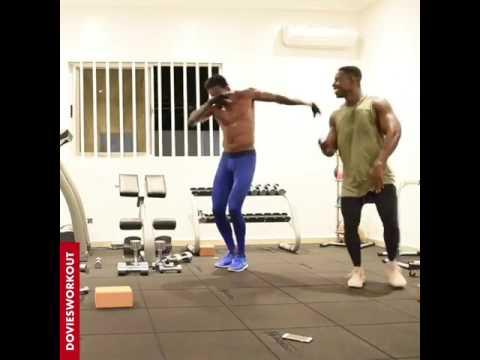 Adebayor dances to Selebobo - Tonyor ft. Mr P (peterpsquare)