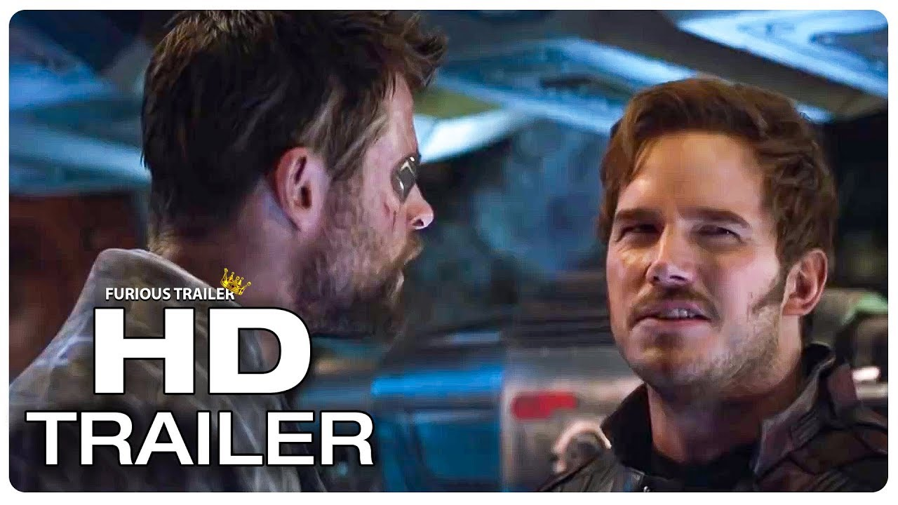 avengers infinity war extended movie clip thor vs star lord (2018