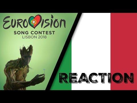 ESC 2018 | ITALY - Ermal Meta & Fabrizio Moro - Non Mi Avete Fatto Niente (Reaction & Review)