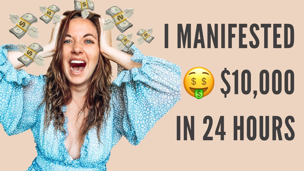 Download How I Manifested $10,000 in 24 hours!   Law Of Attraction Success Story