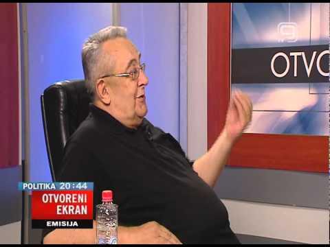 TV KANAL 9, NOVI SAD: OTVORENI EKRAN 21.07.2015. Stevan Vrebalov