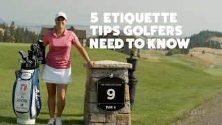 5 Etiquette Tips Golḟers Need To Know