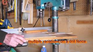 How To Fence On The Drill Press