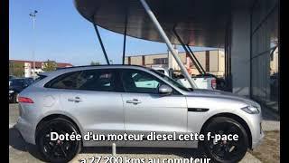 Jaguar f-pace occasion visible à Merignac présentée par Auto real bordeaux