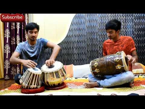 Aas Pass Hai Khuda   Rahat Fateh Ali Khan   Tabla Cover   Dholak Cover   Deepak Kandpal