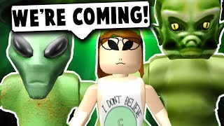 ALIENS ARE TAKING OVER ROBLOX! (Roblox Bloxburg) Roblox Roleplay
