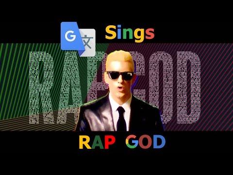 Google Translate Sings Rap God (IVONA.com)