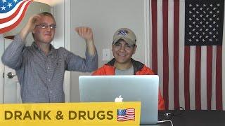 AMERIKANEN ZINGEN DRANK & DRUGS (Lil Kleine & Ronnie Flex)