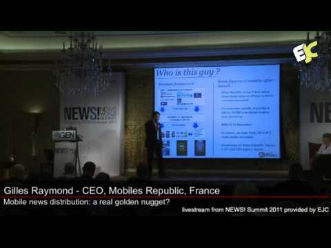 'Mobile News Distribution: a Real Golden Nugget?' at the NEWS! Summit 2011 in Hong Kong.