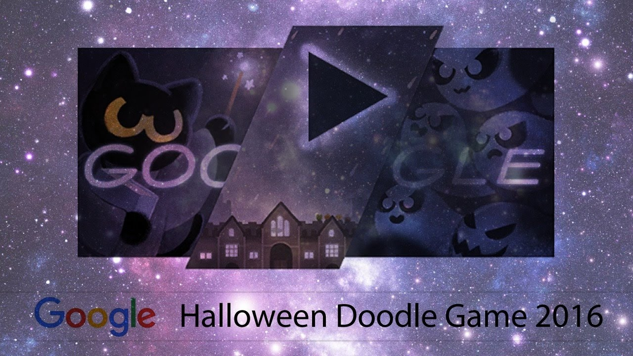 The Google Halloween Doodle Game 2016 1080p60 Youtube
