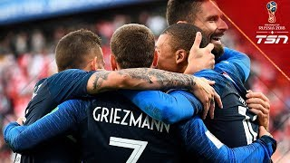 France Advances To The Round Of 16 Eliminates Peru With 1 0 Win