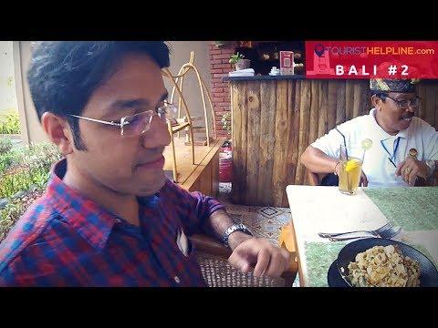 BALI : Vegetarian food &  My hotel on Kuta beach (DAY 1)