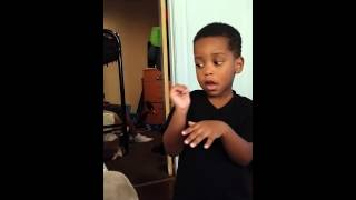 Lil Boy talks his way out of a butt whooping