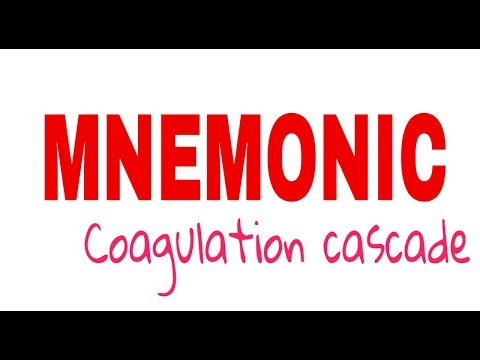 coagulation cascade mnemonic